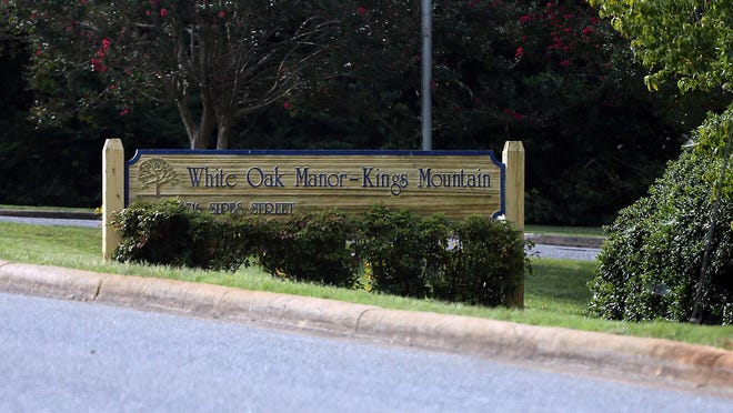 White Oak Manor in Kings Mountain has had 168 confirmed cases of COVID-19 as of Tuesdday, Sept. 8, 2020.