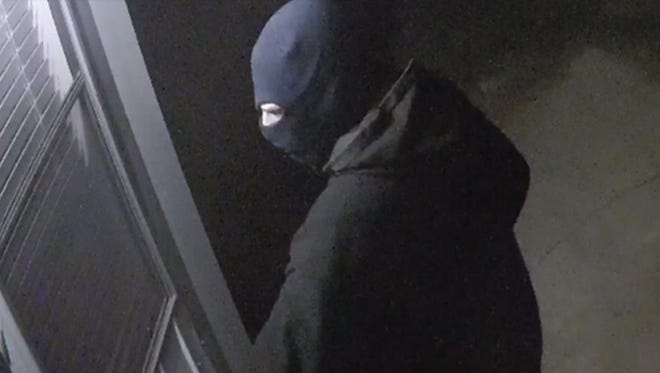 The suspect from a theft and burglary on Bethel Road in Willards.