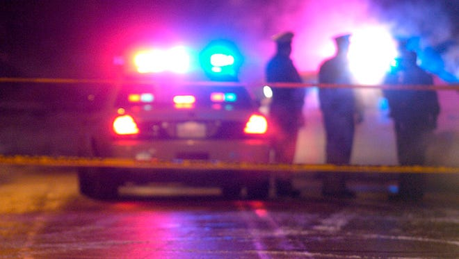 Police responded to reports of a man who was shot in the head just after midnight Friday night.