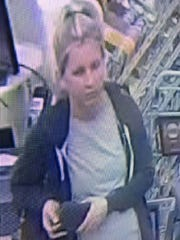 Another view of a woman sought by East Brunswick police