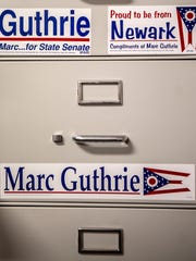 Magnets Marc Guthrie used in various campaigns.
