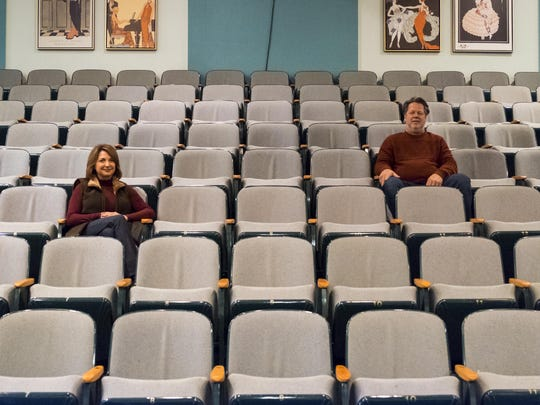 Tom and Kathy Vertin are among Marine City's new movers and shakers. They opened the Snug Theatre in July 2013, and later, in December 2014, the Riverbank Theatre.