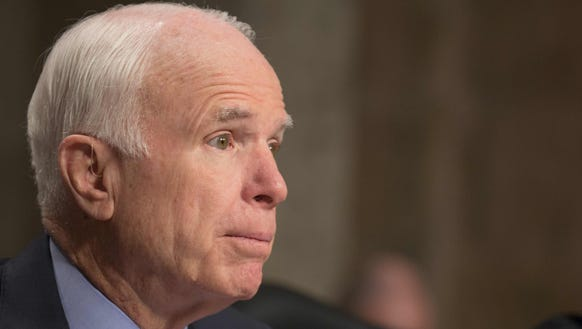Sen. John McCain, chairman of the Senate Armed Services