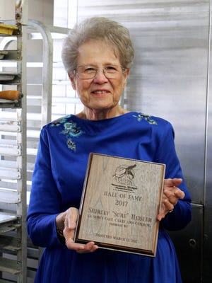 "Shirley ""Sure"" Heisler, founder of La Sure's in Oshkosh, was recently inducted into the Wisconsin Bakers Association Hall of Fame."