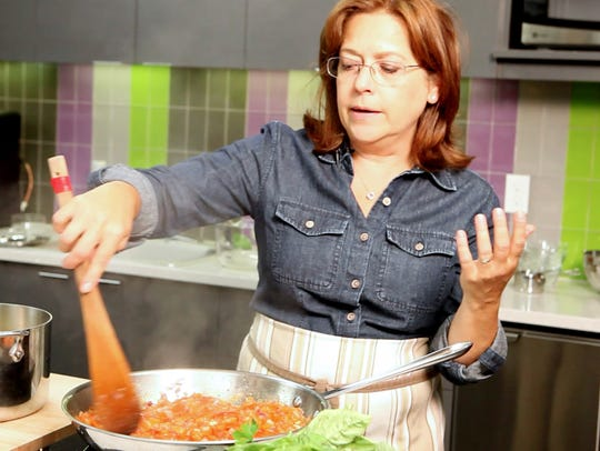 Seasonal Chef blogger Maria Reina prepares an easy