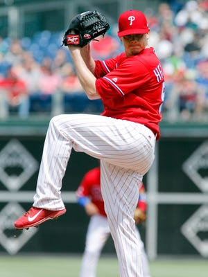 Jeremy Hellickson allowed one run over six innings to lead the Phillies.