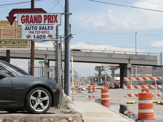 Grand Prix Auto Sales at 1409 E. Paisano will move