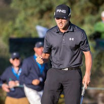 Sunday's golf: Cook wins last event of the year