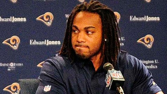 "Tre Mason said he'll welcome new St. Louis Rams teammate Michael Sam ""with open arms."""