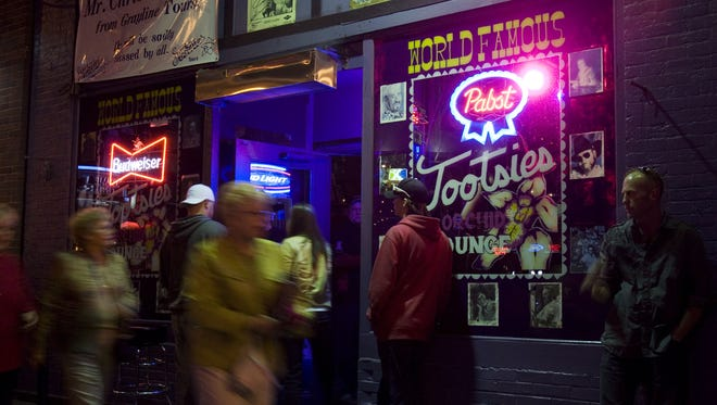 Lower Broadway's Tootsie's turns 55 on Wednesday. The honky-tonk has played a major role in downtown's revival.