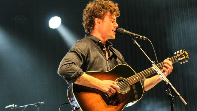 Aussie Singer Vance Joy at his Tuesday concert at the Plaza Theatre.