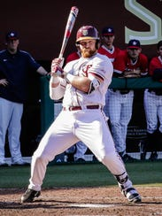 Quincy Nieporte led the way at the plate for FSU while