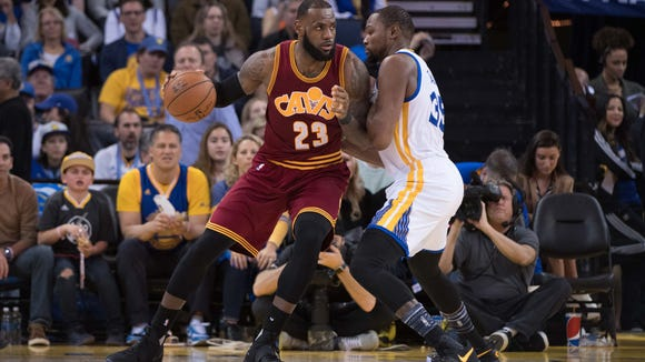 Who guards LeBron James? Ranking every Warriors player's chances vs. the Cavaliers star