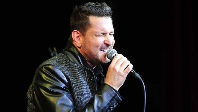 Ty Herndon performs during the Concert for Love and Acceptance at City Winery in Nashville, Tenn. June 12, 2015.