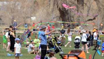 Take your kids and kites to Spring Canyon Park Sunday for annual Kites in the Park
