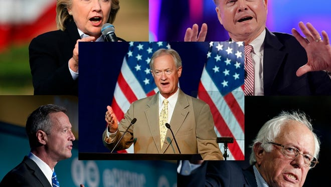 Who do you think will earn the Democratic party's nomination?