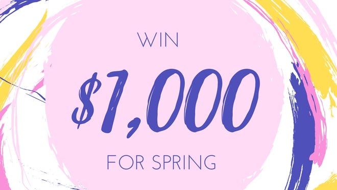 Win a $1,000 gift card for spring.