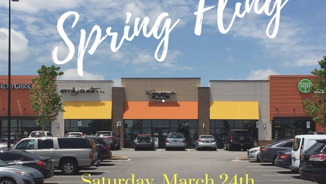 The businesses at Pelham 85 shopping center are holding a Spring Fling for the whole family March 24.