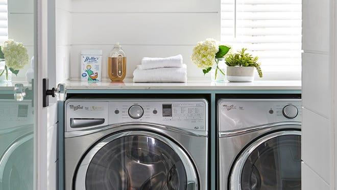 Interior designer Cynthia Soda shares tips for creating a stylish and highly-functional laundry space.