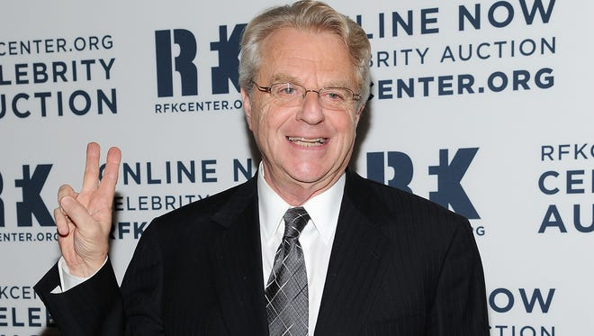 """Jerry Springer will revive his dating show as """"Baggage on the Road"""" for GSN."""