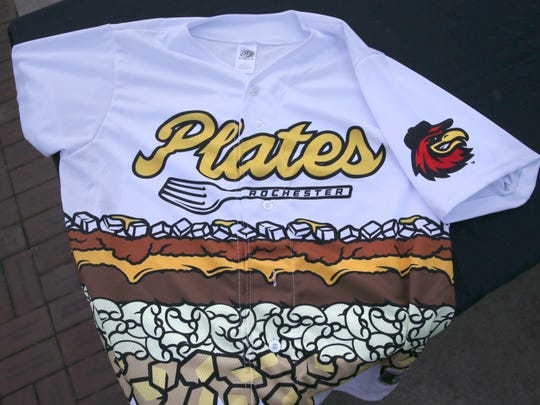 For one night only, the Rochester Red Wings will pull on this jersey and become the Rochester Plates, on Thursday, August 10, at Frontier Field.