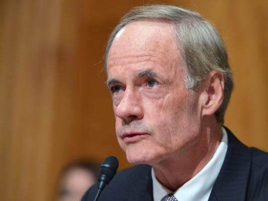 U.S. Sen. Tom Carper, D-Delaware sponsored a bill in July that would require all corporate entities to register with the IRS. Critics say the measure doesn't go far enough to help law enforcement officials target money launderers.