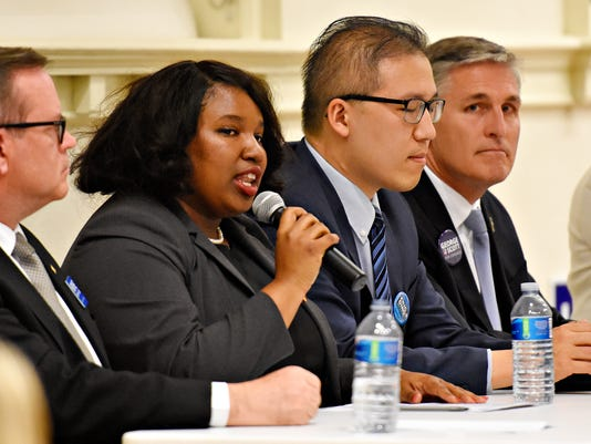 York County Young Democrats host debate at Marketview Arts