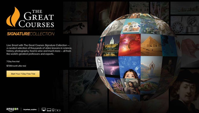 The Great Courses Signature Collection has landed on Amazon Video.