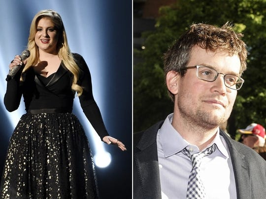 """Meghan Trainor, left, made her mark by singing about """"all the right junk in all the right places."""" John Green sold more than 10 million copies of his 2012 novel """"The Fault in Our Stars."""""""