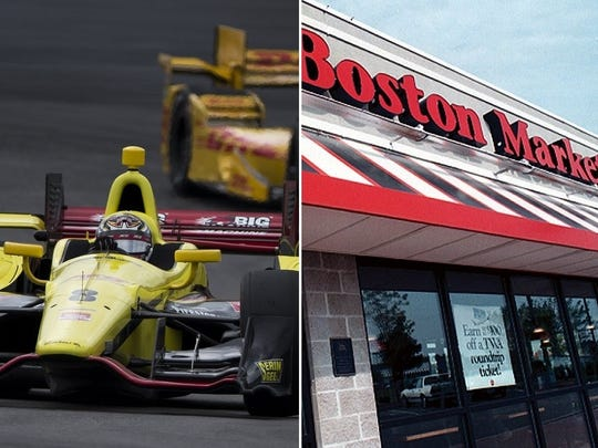 Behind enemy lines: IndyCar will present the inaugural Grand Prix of Boston in 2016. Meanwhile, Indianapolis is home to three Boston Market restaurants.