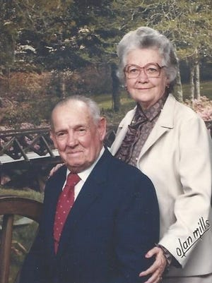 Cleve and Allene McMahan, who were killed in their home in 1989.