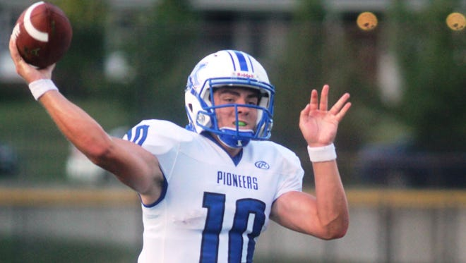 Cam Racke and his Simon Kenton teammates are back in the top spot in the Enquirer Northern Kentucky prep football coaches' poll.