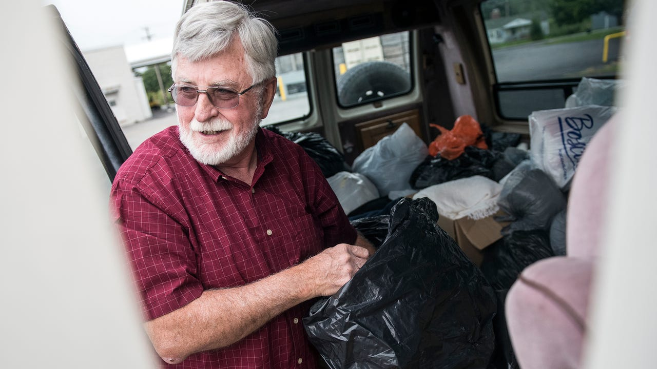 Pastor Rod Runyan has been working with Fruitbelt Farmworker Christian Ministry since 1990. Now, as the director, Runyan looks to spread awareness while he keeps providing donations.