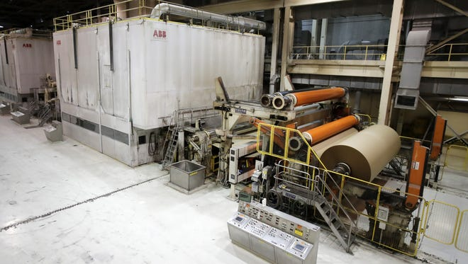 The No. 7 paper machine at Midwest Paper Group is now producing brown paper and switched to 24-hour production on July 2.