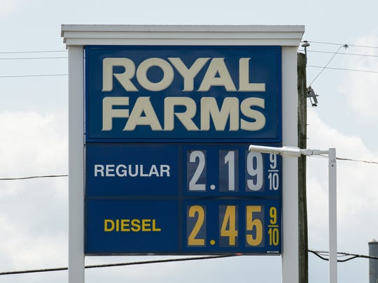 The average current statewide price per gallon is 20 cents higher than it was a month ago and 60 cents higher than itwasa year ago, according to AAA. This time last year the average gas price in Salisbury was at $2.19.