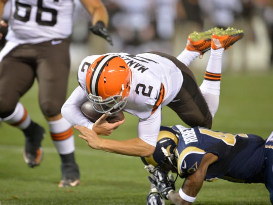 Rams Browns Football (2)