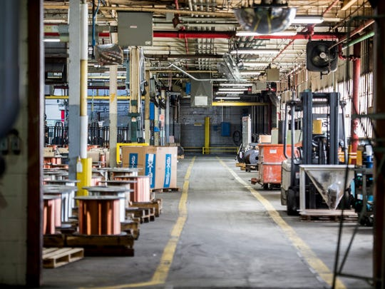 The Belden Wire & Cable manufacturing facility in Richmond