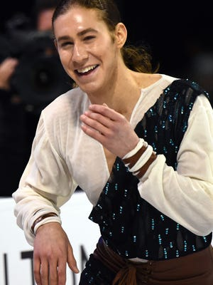 Jason Brown is embracing his role as favorite at the U.S. nationals.
