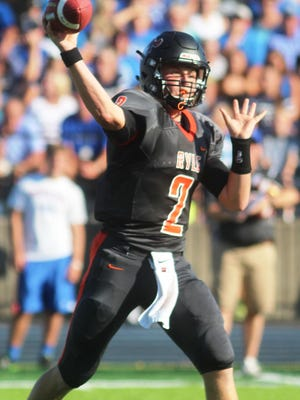 Tanner Morgan finished with 449 yards and two passing touchdowns in Ryle's win over Covington Catholic Friday.