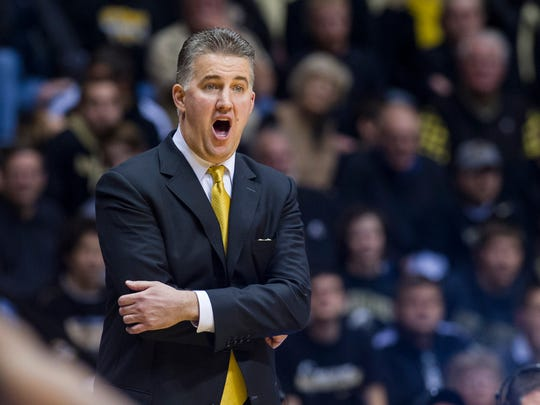 Purdue head coach Matt Painter is the second-highest public school coach in the state.