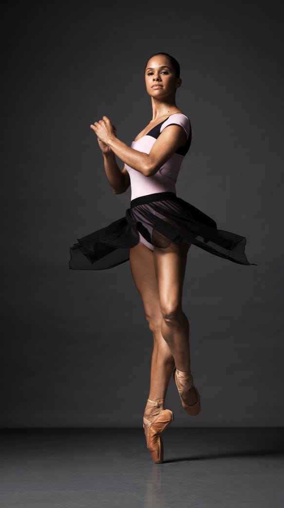 Misty Copeland, and her legendary calves.