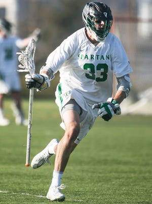 Matt Whitcher is one of three York College players to compete in a national all-star game on Friday in Boston. YORK DISPATCH FILE PHOTO