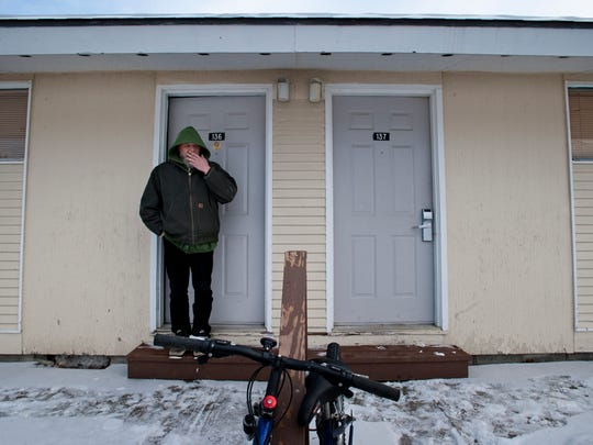 The Champlain Valley Housing Trust has been operating the former Econo Lodge on U.S. 7 in Shelburne, seen in January, as Harbor Place, a temporary shelter for the homeless.