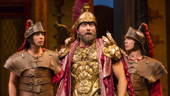 "Earlier this season, Two River Theater produced ""A Funny Thing Happened on the Way to the Forum."""