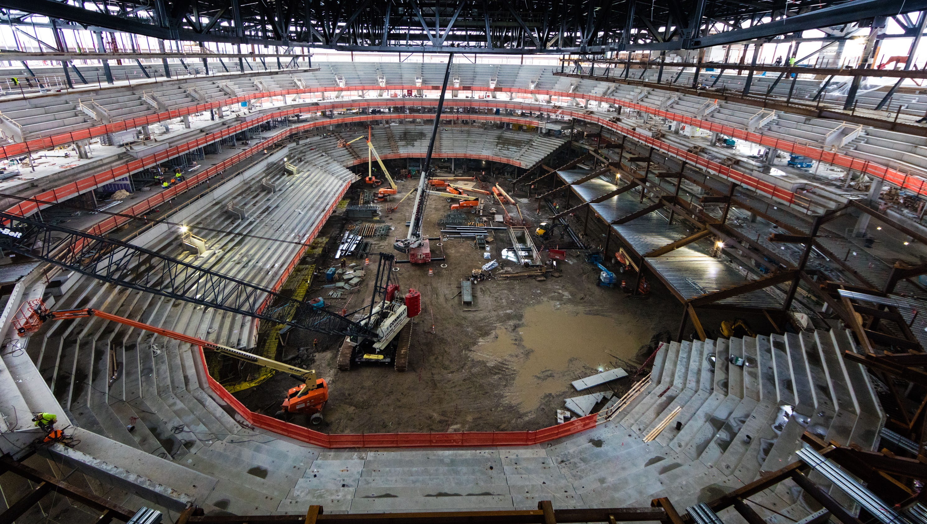 An Inside Look At The Little Caesars Arena Project
