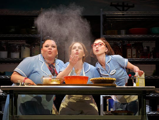 Left to right, Keala Settle, Jessie Mueller and Kimiko