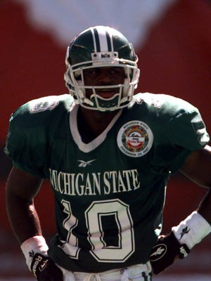 Michigan State cornerback Ray Hill in 1997.