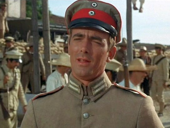 Eric Braeden as German solider in '100-Rifles'---Twentieth