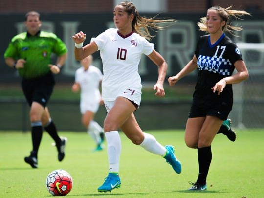 Florida State star sophomore Deyna Castellanos has already tallied six goals in just five games this season.