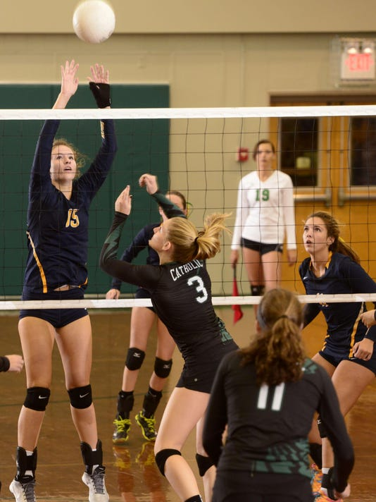 Catholic High School vs Gulf Breeze High Volleyball